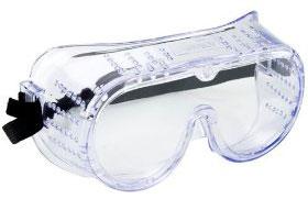 ชนิดอุปกรณ์ป้องกันดวงตา