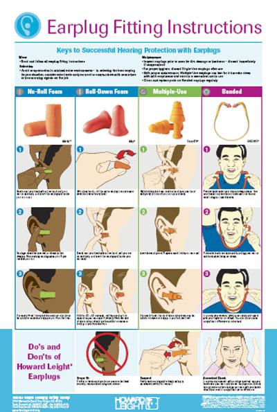 วิธีการใส่ที่อุดหู