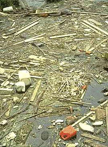 การทำความสะอาดหลังน้ำท่วม
